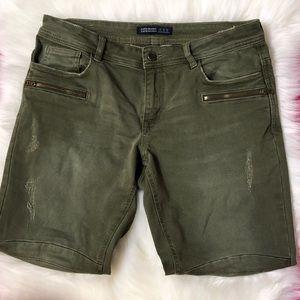 Zara Green Denim Pants!
